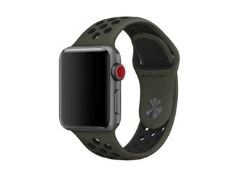 Sportband 38/40mm Apple Watch Armband - (CARGO KHAKI / BLACK)