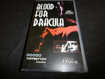 Blood for Dracula - VHS - (1974)