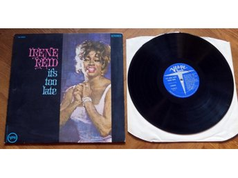 IRENE REID It's too late Verwe Jazz US Jazz lady V/V6 1966