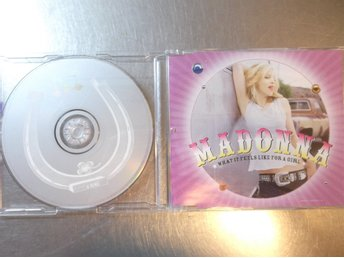 MADONNA WHAT IT FEELS LIKE FOR A GIRL. CD MAXI I GOTT SKICK