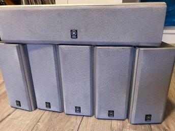 Yamaha 5.1 hemmabio högtalar paket NX-C130 och .. (336884172) ᐈ Köp ... a5d447f809177