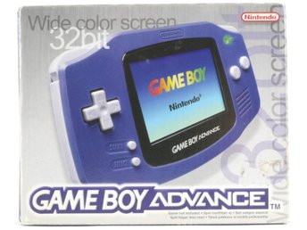 Game Boy Advance Console (Indigo Purple) -