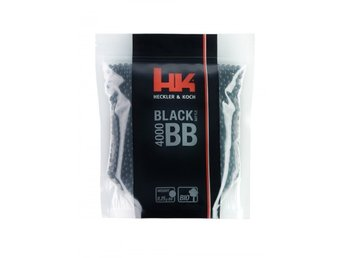 Heckler & Koch softairgun airsoft ammunition Black Battle Bio ca 4000st 0,25g