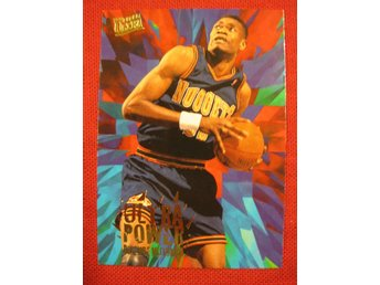 DIKEMBE MUTOMBO - FLEER ULTRA 1995-96 ULTRA POWER - BASKET