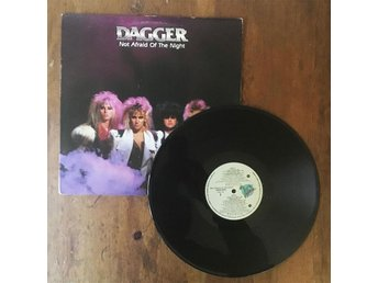 Dagger - Not Afraid Of The Night LP | heavy metal hårdrock