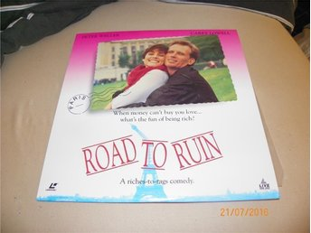 Road to ruin  - 1 st Laserdisc