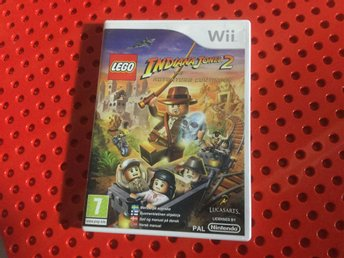 Wii Indiana Jones 2 spel