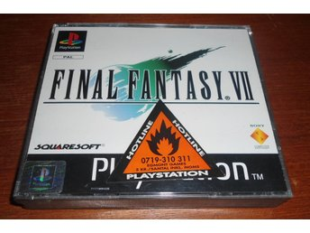 Final Fantasy 7 VII - PS1 / Playstation 1
