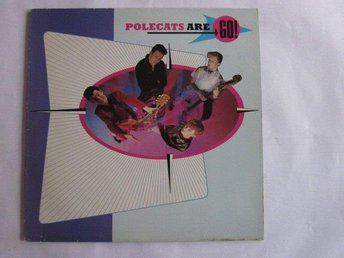 Polecats -Polecats are go LP 1981 Phonogram/Mercury