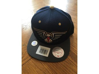New Orleans Pelicans NBA Snapback Keps Mitchell & Ness M&N