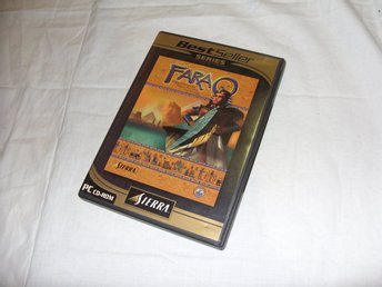 Farao Sierra Strategi spel Svensk version PC CD ROM spel