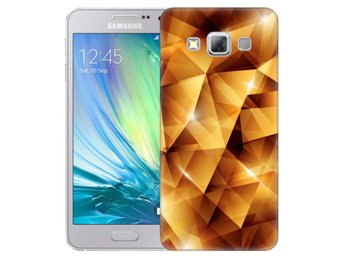 Samsung Galaxy A3 (2015) Skal Golden Polygons