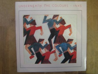 INXS- Underneath The Colours  (LP)