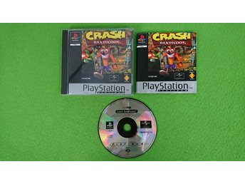 Crash Bandicoot Playstation 1 PSone ps1