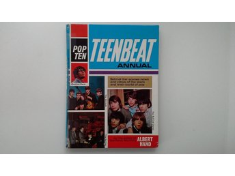 Pop Ten  - Tenbeat Annual - Beatles, Rolling Stones mm. - 60 - talet