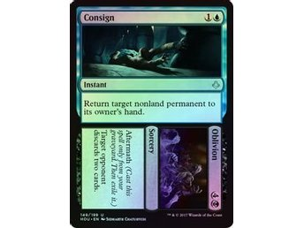 MtG Foil, Consign // Oblivion, Hour of Devastation