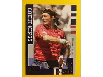 JUAN CARLOS FERRERO: 2005 Ace Authentic Signatures Series Court Kings #CK10 500x