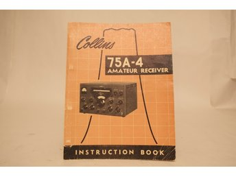 Collins 75A-4 Instruction Book