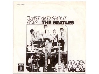 "BEATLES - Twist And Shout  7"" Singel  Tyskland"