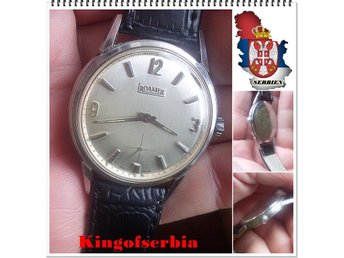 ROAMER @ Vintage watch Original.