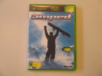 AMPED - FREESTYLE SNOWBOARDING - XBOX (Komplett!)