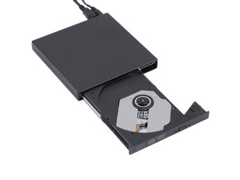 NY!External DVD-R+CD-R/W Burner -Portable USB 2.0 Drive brännare