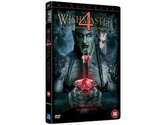 Wishmaster 4 - The Prophecy Fulfilled DVD - Timrå - Wishmaster 4 - The Prophecy Fulfilled DVD - Timrå