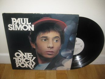 PAUL SIMON - One-trick pony LP 1980 / Tony Levin/Steve Gadd