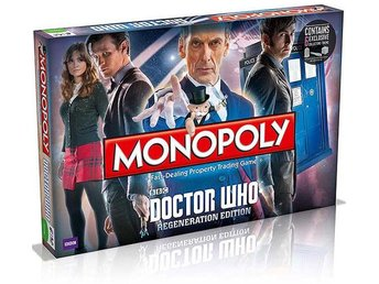 Monopoly Doctor Who Regeneration Version Monopol