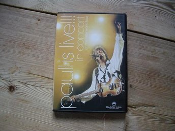 Paul Mccartney. Paul is live !!! in concert DVD Film - Surahammar - Paul Mccartney. Paul is live !!! in concert DVD Film - Surahammar