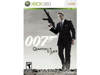 007 QUANTUM OF SOLACE TILL XBOX 360. FELFRI. - Upplands Väsby - 007 QUANTUM OF SOLACE TILL XBOX 360. FELFRI. - Upplands Väsby