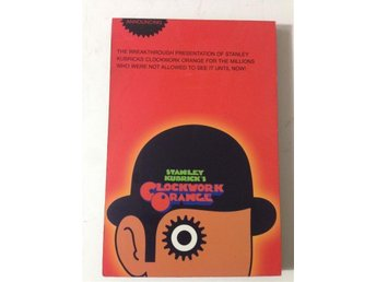 Tavla Clockwork Orange. Stanley Kubrick-Anthony Burgess. Finfint skick!