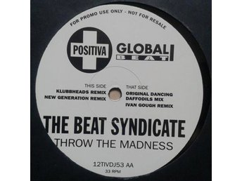 "The Beat Syndicate title* Throw The Madness* House 12""Promo"