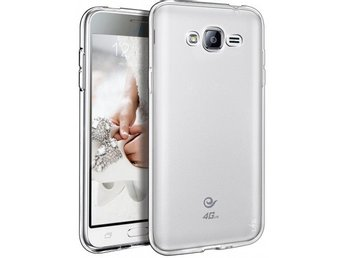 Samsung J5 Ultratunn TPU Skal Simple® Färg: Transparent