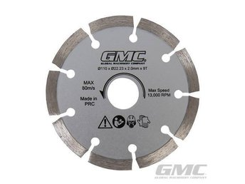 Diamond Saw Blade GTS1500 110 x 22.23 x 2mm x 9T GMC