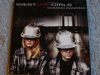 West End Girls - Domino dancing, 3tr CD-maxi - Ny!