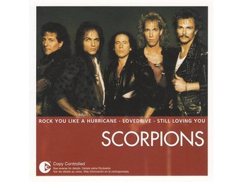 CD -Scorpions ‎– The Essential Scorpions