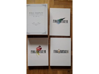 Final Fantasy Box Set, 3 guideböcker till FF7, 8 & 9 inkl 3 artwork.