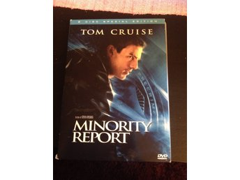 Dvd, thriller , minority report, Tom Cruise