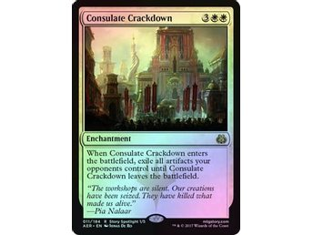 MtG Foil, Consulate Crackdown, Aether Revolt