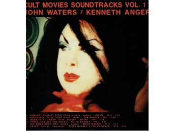 CULT MOVIES SOUNDTRACKS VOL 1 JOHN WATERS / KENNETH ANGER. LP