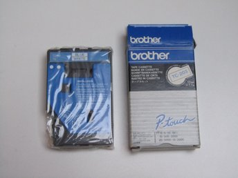 Brother TC-203 Tape Blue/White