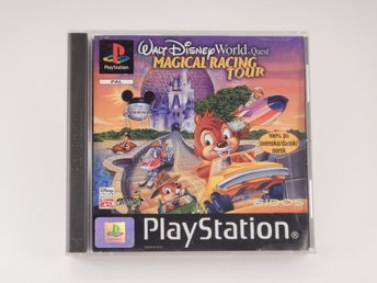 Playstation / 1 Ps1 -- Disney Magicl Racing Tour -- Svensk Utgåva  --  Barnspel