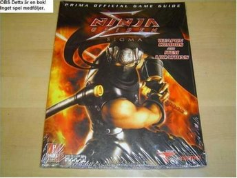 NINJA GAIDEN SIGMA GUIDE WALKTHROUGH PLAYSTATION 3 *NYTT*