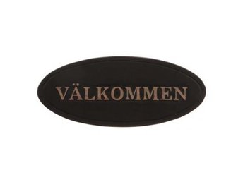 "Different Design - Vacker ""Välkommen"" skylt."
