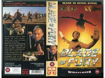 Blade of fury av Sammo Hung med Ti Lung och Cynthia Khan
