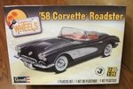 Revell Monogram 1/25 1958 Corvette Roadster