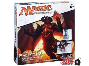 Magic the Gathering Arena of the Planeswalkers Battle for Zendikar (Tysk)
