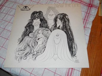 AEROSMITH--Draw the line.    LP