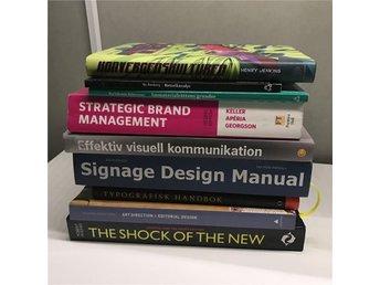Diverse böcker / studentlitteratur inom grafisk design och kommunikation - Linköping - Diverse böcker / studentlitteratur inom grafisk design och kommunikation - Linköping